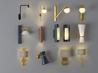 现代风格壁灯工业风