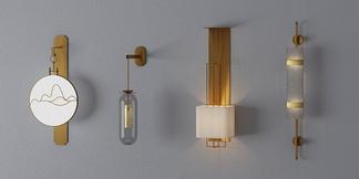 现代中式壁灯