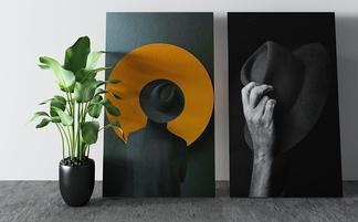 现代艺术装饰画