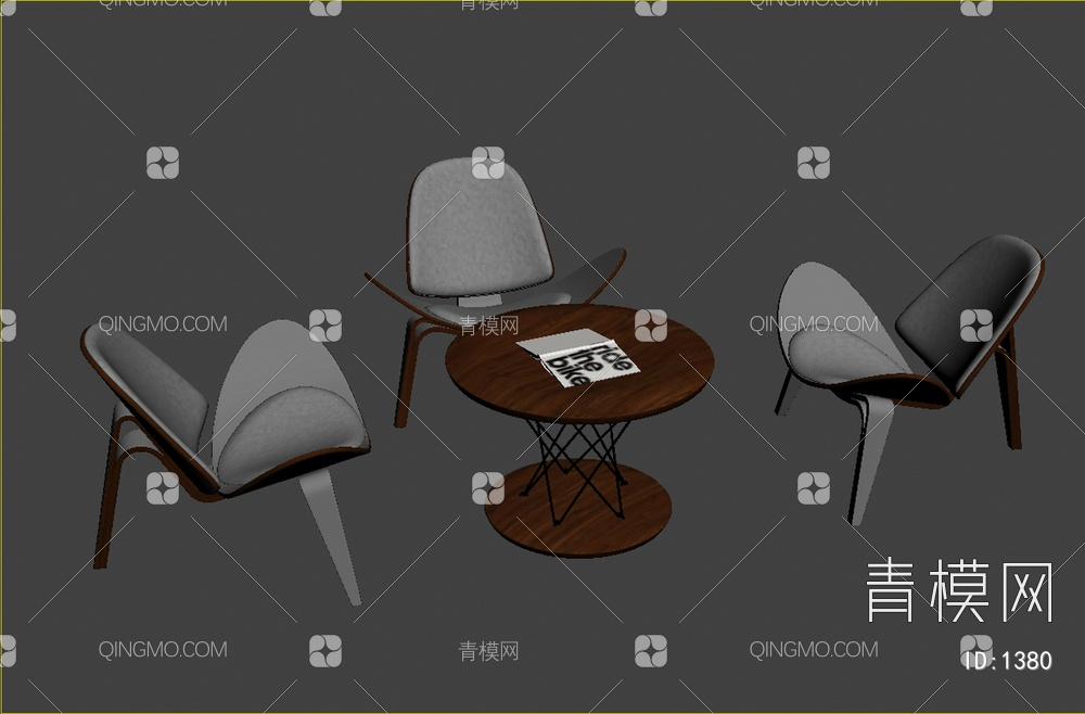 休闲茶几桌椅组合