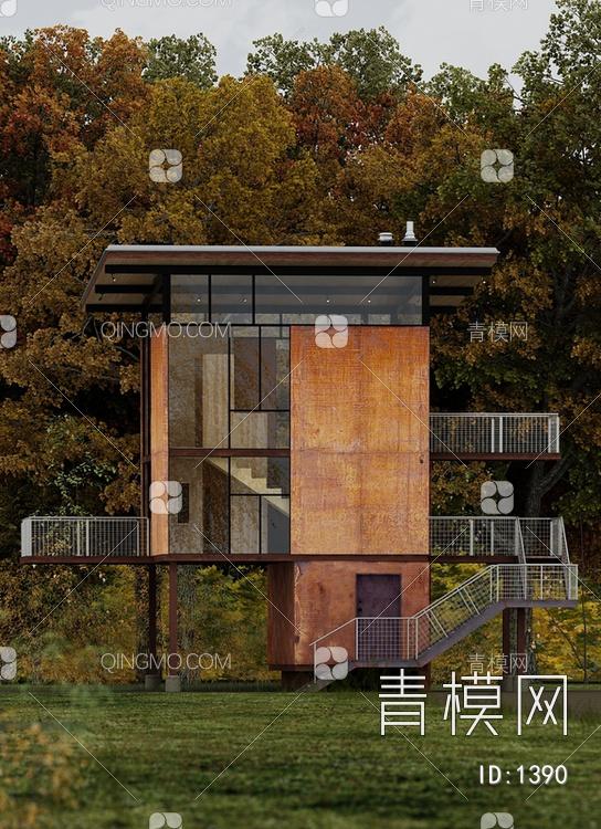 现代森林独栋别墅