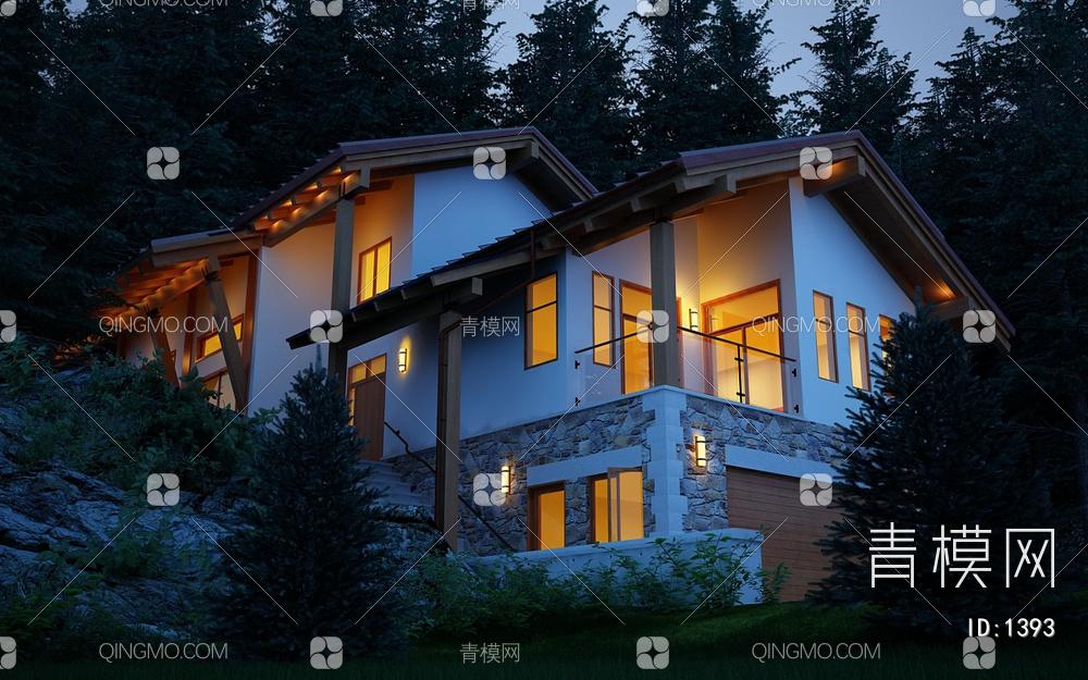 现代森林日式别墅