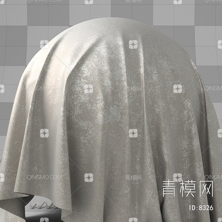反光银箔布艺