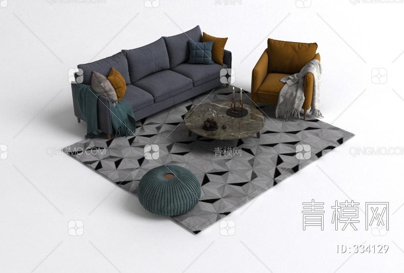 沙发茶几组合