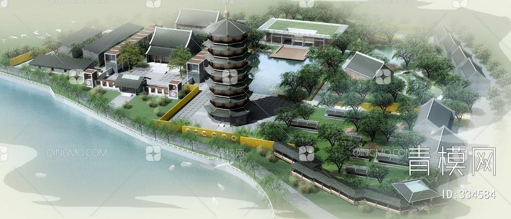 ZKH#中式古建筑(古建3)古建筑30804 风格建筑 古建 93