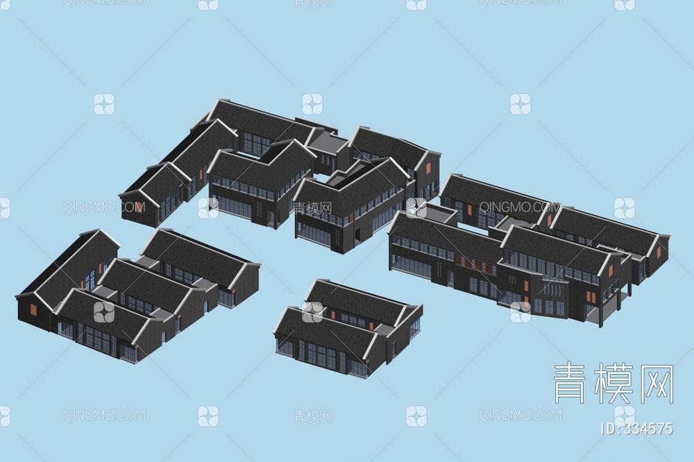 ZKH#中式古建筑(古建3)古建筑30804 风格建筑 古建 77