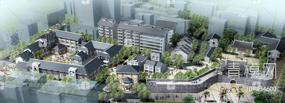 ZKH#中式古建筑(古建3)古建筑30804 风格建筑 古建 104