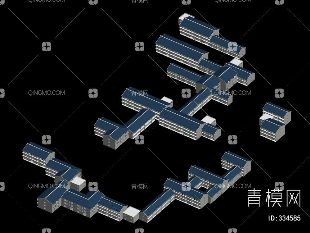 ZKH#中式古建筑(古建3)古建筑30804 风格建筑 古建 02
