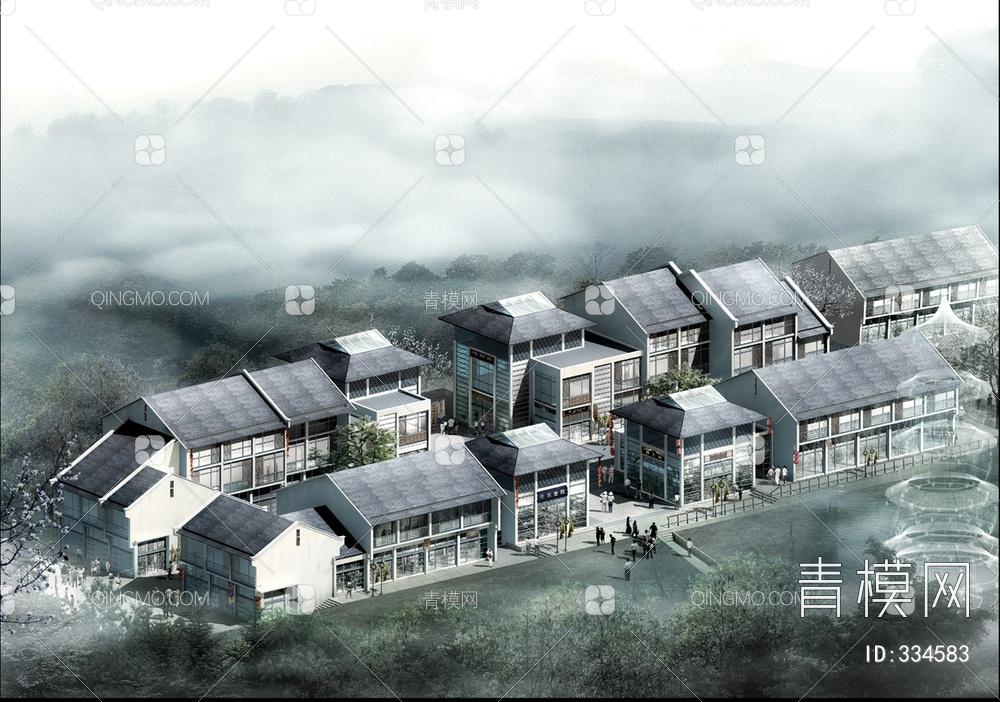 ZKH#中式古建筑(古建3)古建筑30804 风格建筑 古建 79