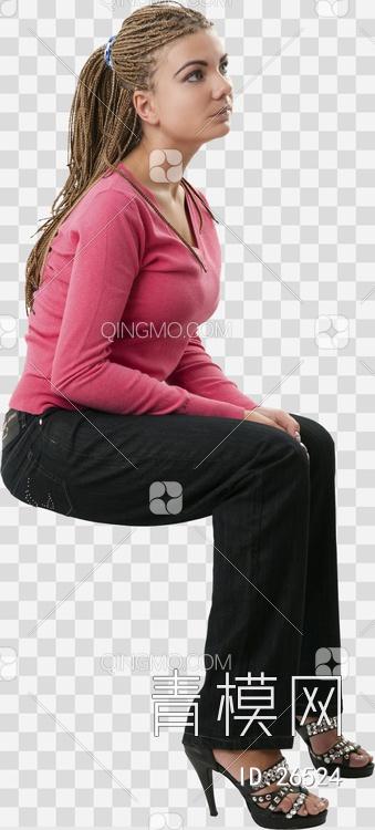 关键字: 特大尺寸黑png 现代人物人物后期素材 坐姿的女人