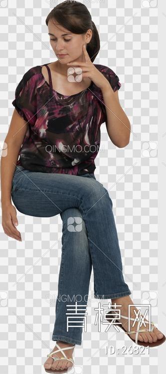 关键字: 特大尺寸蓝png 现代人物人物后期素材 坐姿女人