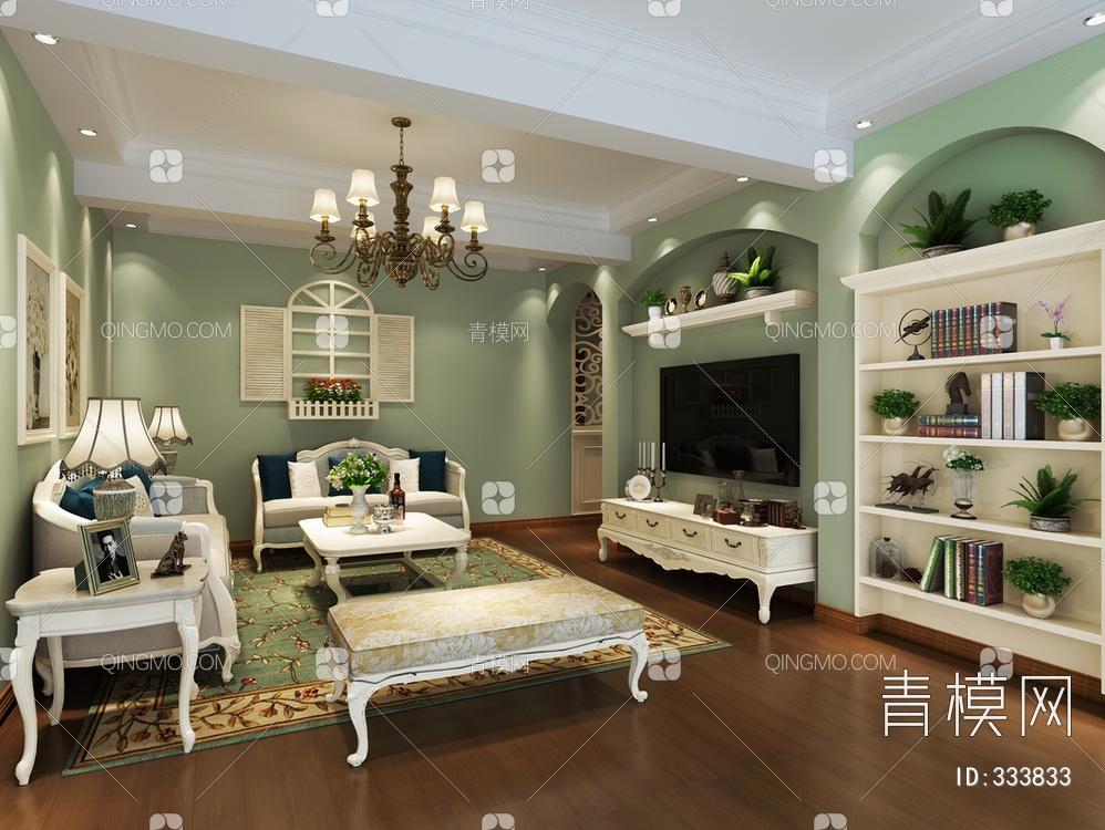客厅空间北欧风格