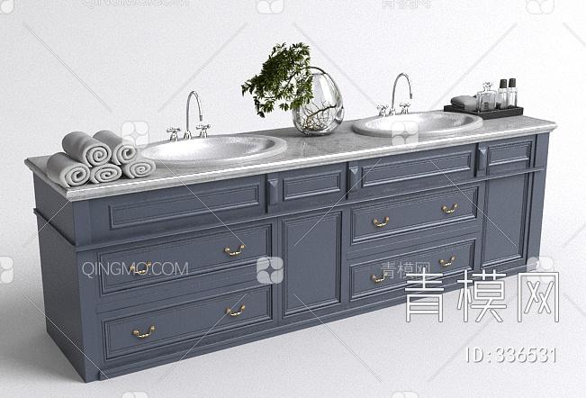 简欧洗手台