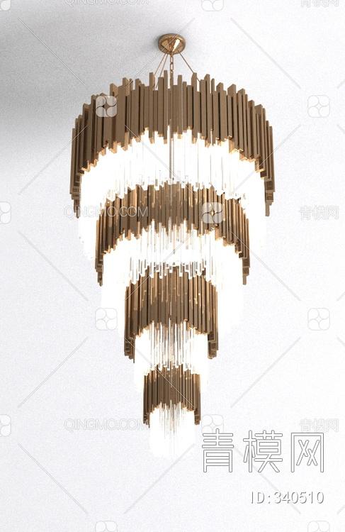现代水晶吊灯