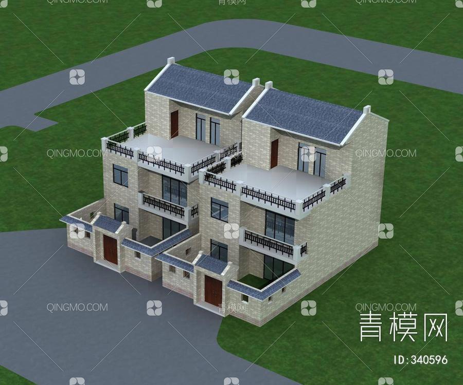 中式农村别墅