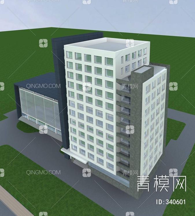 现代高层办公大楼