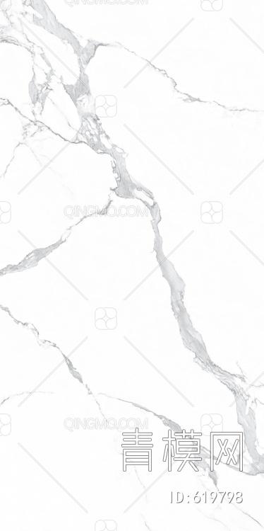 特地 高清石纹 白色大理石 岩板 背景墙